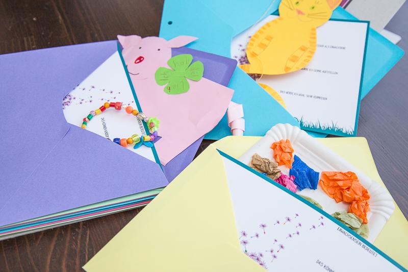 Geschenk für ErzieherIn zum Abschied, mit persönlichen Steckbriefen der Kinder