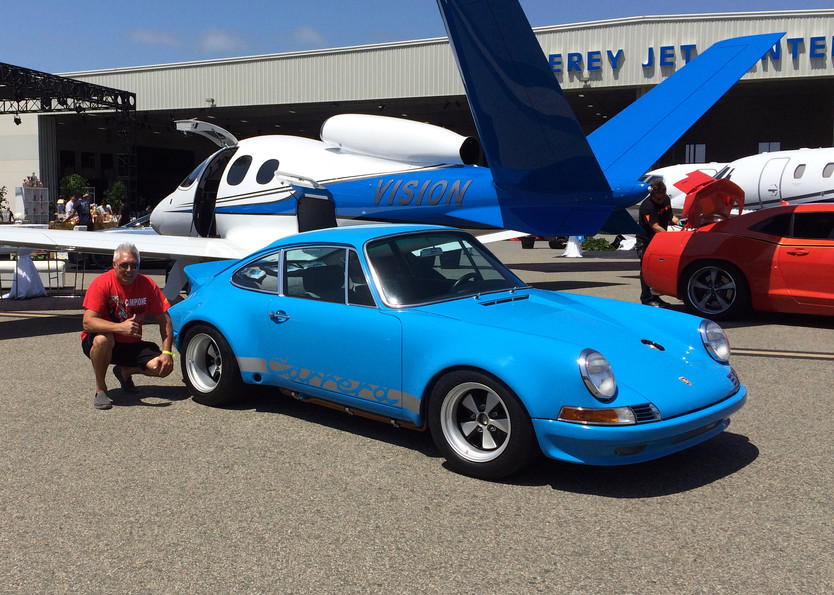 RIVIERA BLUE AT McCALL'S JET CENTER PARTY