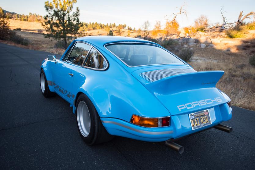 Riviera Blue RSR-Inspired 1982 Porsche 911SC Coupe