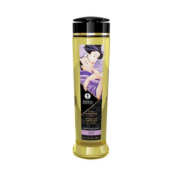 Erotic Massage Oil - Sensation - Lavender - 240Ml