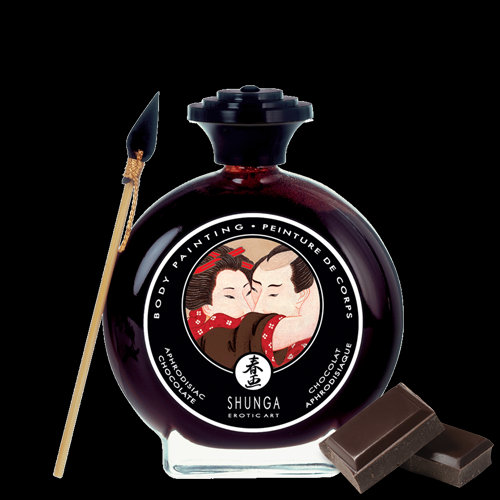 Kissable Body Paint - Dark Chocolate
