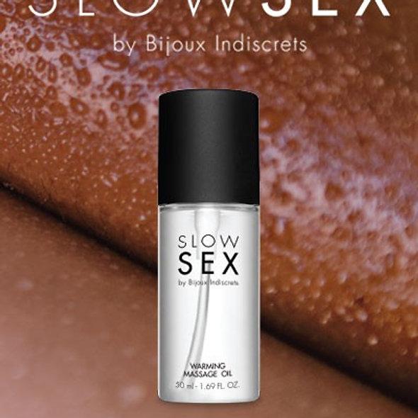 Hot Massage Oil - Slow Sex - 50 Ml