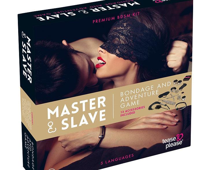 Master And Slave Premium - Kit Bdsm