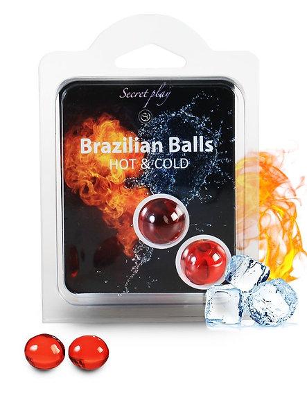 """Brazilian Duo Balls """"Hot Cold Effect"""" 3629"""