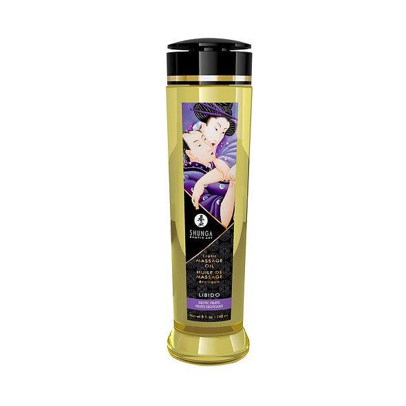 Erotic Massage Oil - Libido - Exotic Fruits - 240 Ml