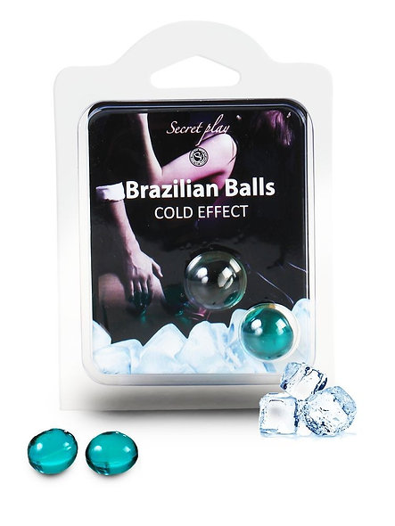 """Brazilian Duo Balls """"Cold Effect"""" 3613"""