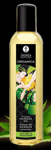 Organic Massage Oil - Green Tea
