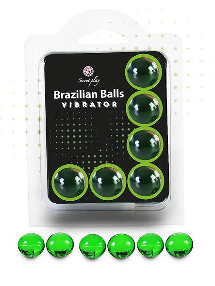 "6 Brazilian Balls ""Vibrator"" 3591-1"