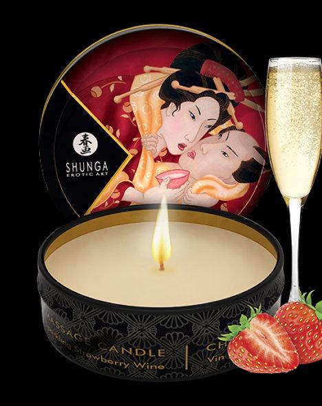 Mini Massage Candle - Strawberry Sparkling Wine