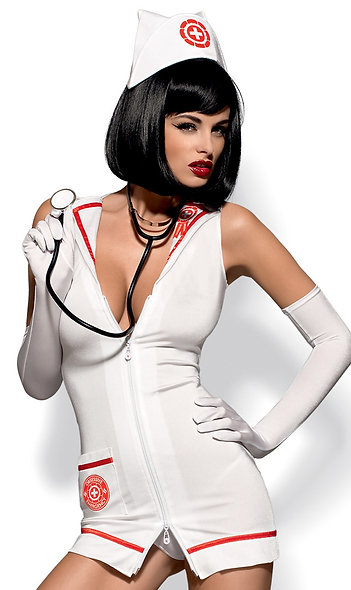 Emergency Costume - Red And White