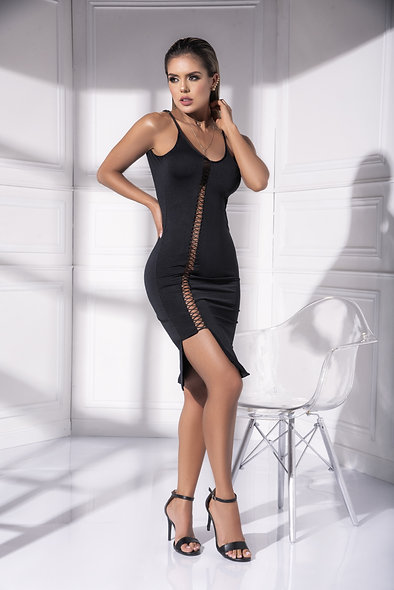 Dress Style 4538 - Black