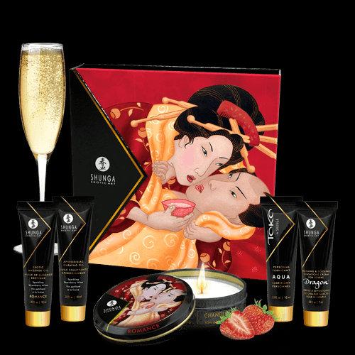 Kit Secret Geisha - Organica - Strawberry Sparkling Wine