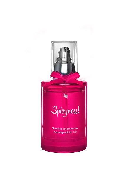 Massage Oil With Pheromones Spicy - 100 Ml
