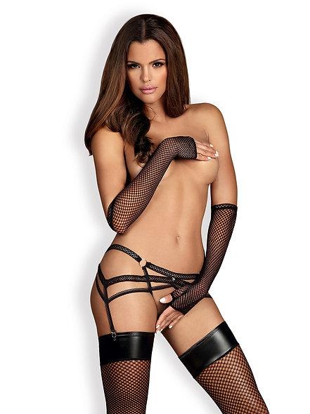 Darkie Suspenders - Black