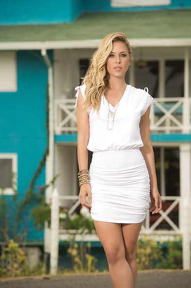 Dress Style 4917 - White