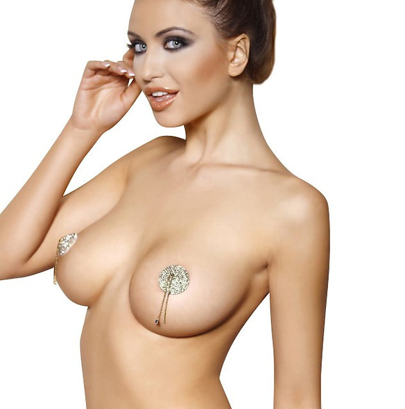 Pearl Pasties - Silver
