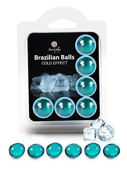 "6 Brazilian Balls ""Cold Effect"" 3613-1"