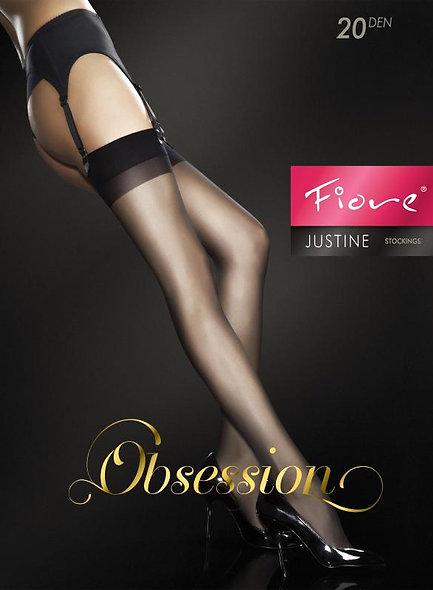 Justine Down 20 Den - Black