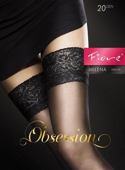 Milena Netherlands 20 Den - Black