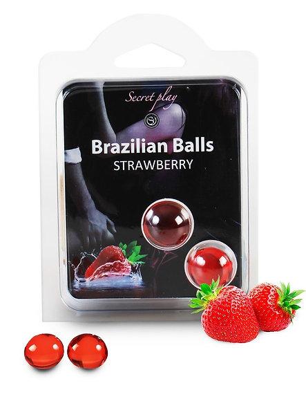 Brazilian Duo Balls Strawberry 3385-7