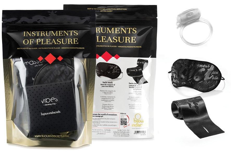 Enjoyment Box - Mask Links Sensual Cockring Pod
