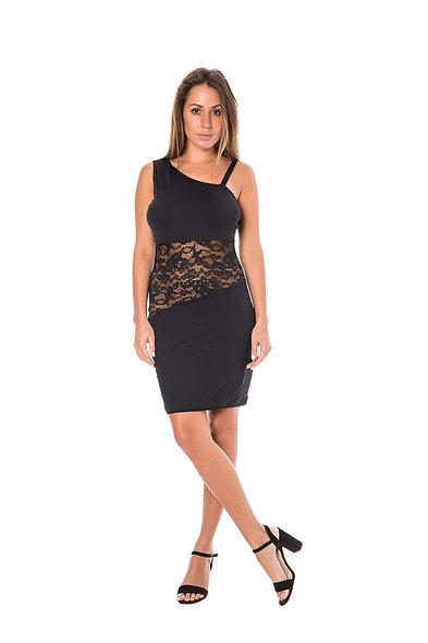 Dress Asymmetrical Cocktail - Black