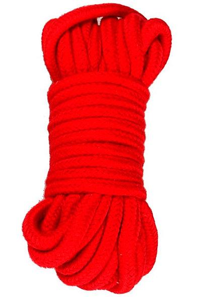 Bondage Rope 10M 6166R - Red