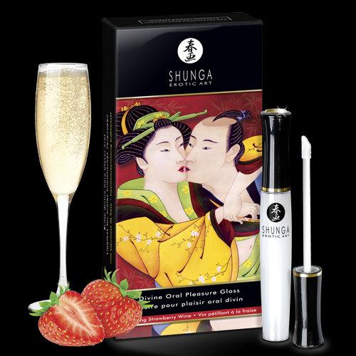 Pleasure Gloss Divine Oral - Sparkling Wine And Strawberries