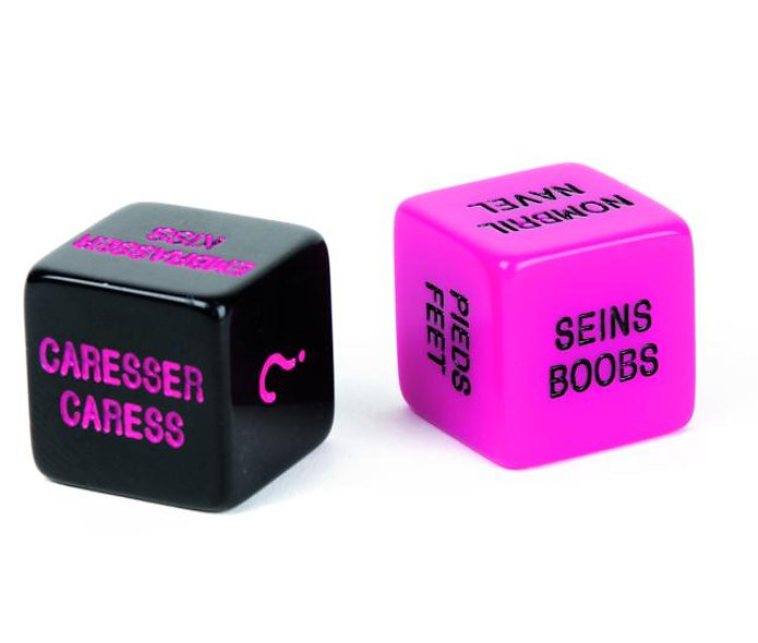 Play Dice And Love - Pink And Black