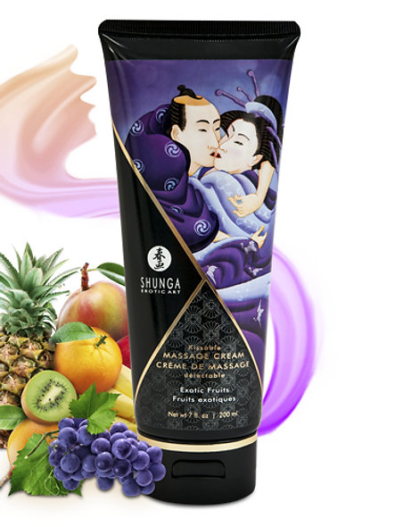 Delectable Massage Cream - Exotic Fruits