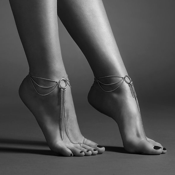 Magnificent - Chain Foot And Ankle - Silver