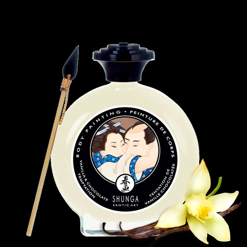 Kissable Body Paint - White Chocolate And Vanilla