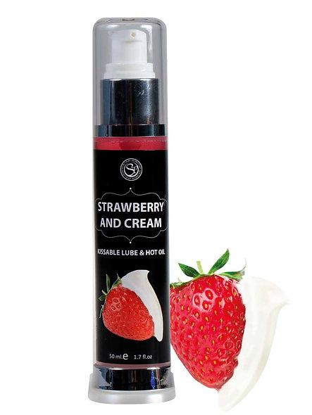 Hot Lubricant Effect Strawberry 50Ml 3538