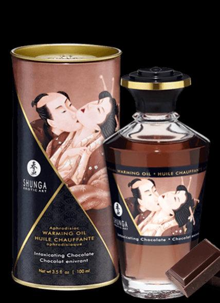 Heating Oil Aphrodisiac - Chocolate Intoxicating 100Ml