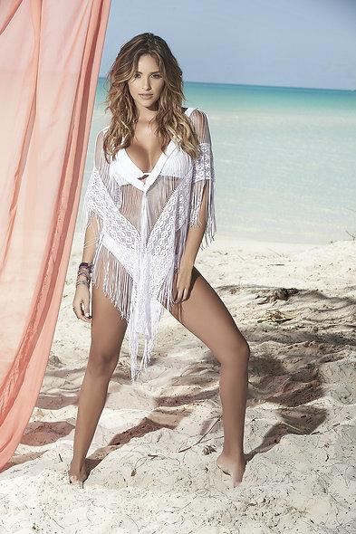 Beach Dress Style 7834 - White