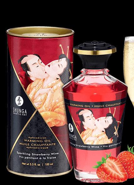 Heating Oil Aphrodisiac - Sparkling Wine With Strawberry 100Ml