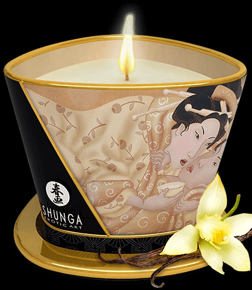 Massage Candle Glow And Caresses - Vanilla Desire