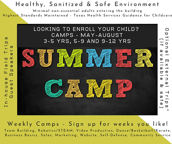 Looking to enroll your child for summer_
