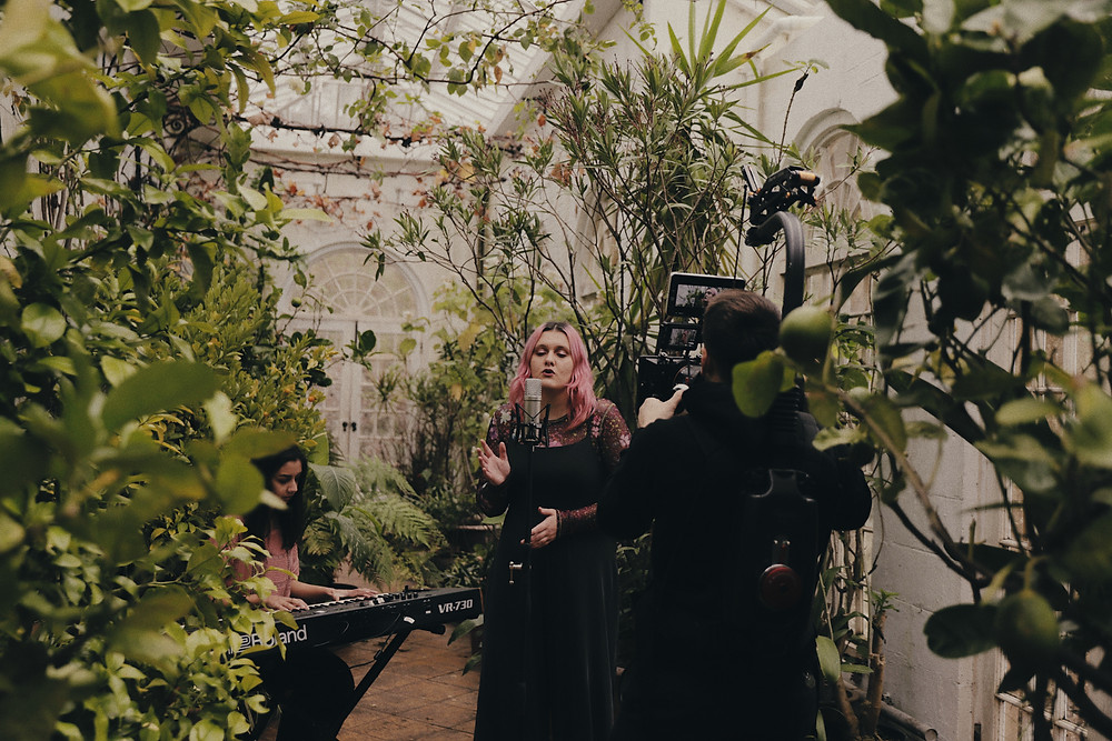 BTS from the 'Why Do You' acoustic video shoot, coming out in May.
