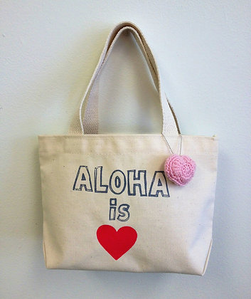 ALOHA IS LOVE BAG