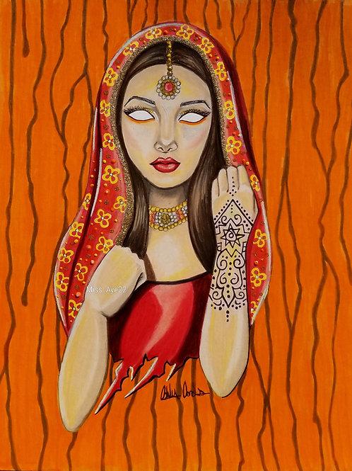 India Culture Mask