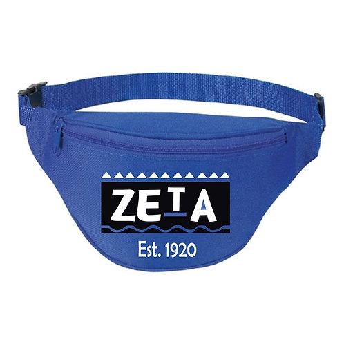 Zeta Blue Fanny Pack