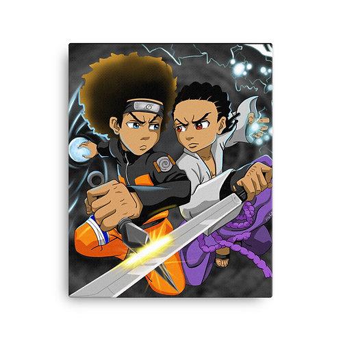 Boondock x Naruto Canvas Print