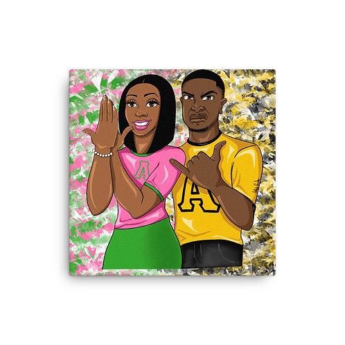 Lyle Love Canvas Print