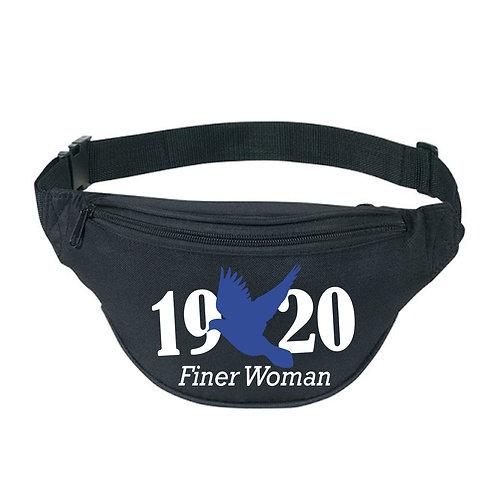 Finer Woman Black Fanny Pack