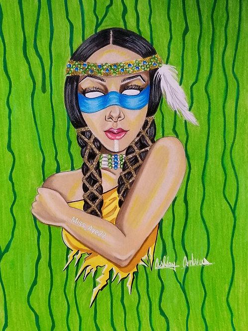 Native American Culture Mask