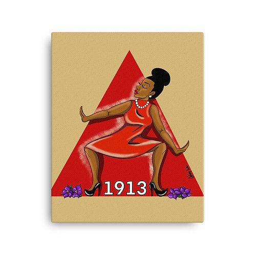 Diva 1913 Canvas