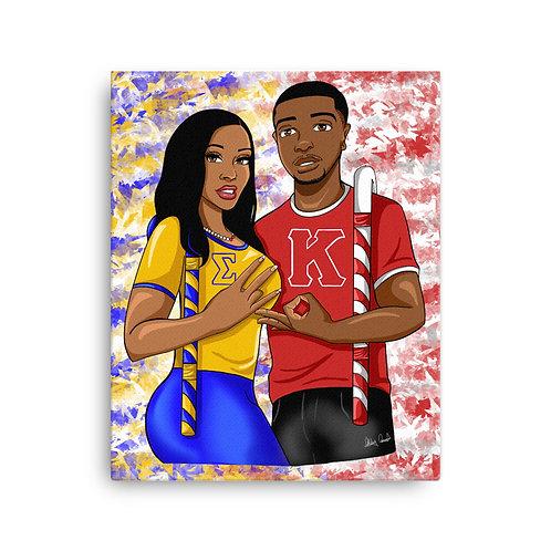 Indy Love Canvas Prints