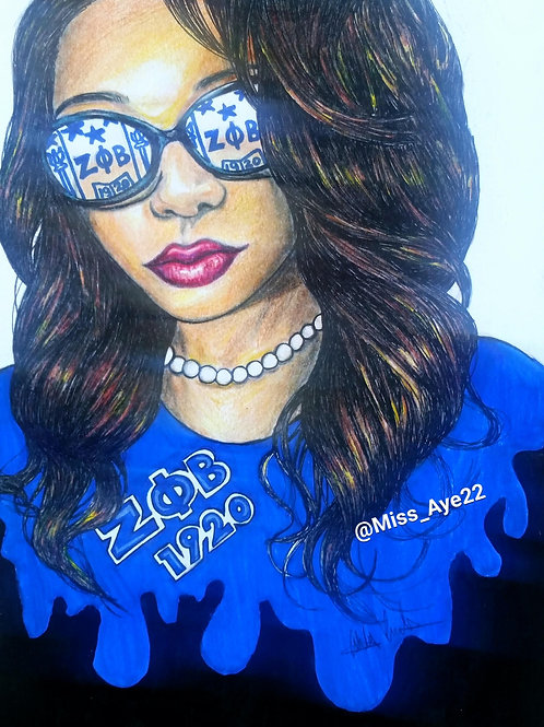 Zeta with Shield Glasses