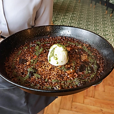 Truffle and Mushroom Paella